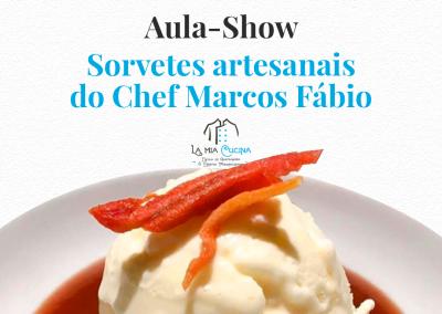 Sorvetes Artesanais do Chef Marcos Fabio